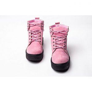 Jolly أحذية للنساء قصيرة بشكل أنيق - Pink