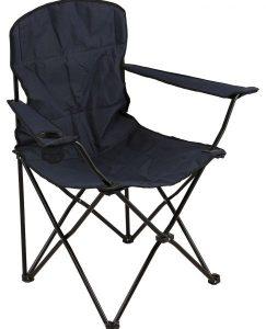 دانوب هوم أونو كرسي رحلات قابل للطي في الهواء الطلق - أزرق / أسود