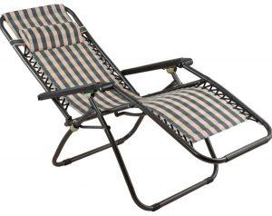 كرسي بطراز سارا ريكلاينر من دانوب هوم - اللون متعدد الالوان