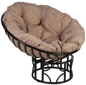 كرسي للاسترخاء من دانوب هوم للاثاث Im LI - اللون اسود/بيج