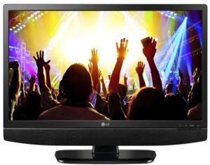 ال جي شاشة مع تلفزيون 24 انش, اتش دي, ال اي دي, يو اس بي, 16:9, 1366x768