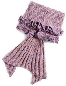 بطانية اكريليك ، اللون زهري - قياس توأم/مفرد