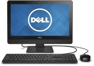 ديل انسبيرون 3064 كمبيوتر الكل في واحد - انتل كور i3-7100، شاشة لمس 19.5 انش، 1 تيرا، 4 جيجا، ويندوز 10، اسود