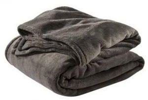 بطانية صوف من شركة ريجنسي ، اللون رمادي - قياس كينغ
