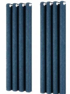مخمل نمط لون موحد,ازرق - ستارة جانبية احادية
