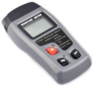 جهاز بدبوسين لكشب مستوى الرطوبة في الخشب من 0 حتى 99.9% وبدقة 0.5، EMT01