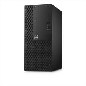 Dell OptiPlex 3050MT Intel core i3-7100, Ubuntu Linux , Black ,4GB Ram,500GB HDD.