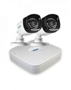 AHD 4 Channels DVR + 2 Outdoor Security Camera CCTV