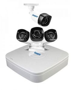 AHD 4 Channels DVR + 4 Outdoor Security Camera CCTV