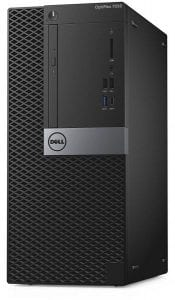 ديل أوبتيبلكس 7050 مت سطح المكتب، كور i7-7700 4GB رام 1TB هد دوس بدون مراقب