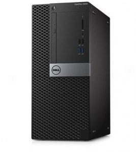 Dell Optiplex 7050 MT - Core i7-7700 - 4GB RAM - 1TB HDD - Dos