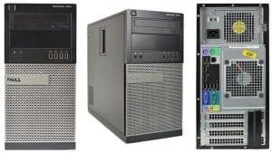 Dell Optiplex 7010 MT Desktop, Core i3 4GB RAM 320 GB HDD Windows 7 Professional