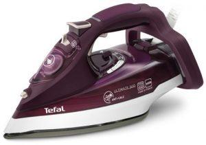 مكواة بخار من شركة تيفال ، لون احمر - موديل fv9650
