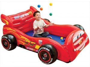 انتكس 48668 سرير وملعب سيارة للاطفال