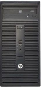 كمبيوتر مكتبي اتش بي 280G1 بمعالج i3 بسعة 4 جيجابايت 500 جيجابايت بشاشة ال اي دي 18.5 بوصة دوس