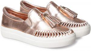 JSLIDES حذاء سهل الارتداء للنساء ، روزيجولد