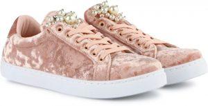 كويبد حذاء فاشن سنيكرز، للنساء ، مقاس 10 US ، اللون زهري