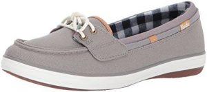 كيدز حذاء سهلة الارتداء رمادي -للنساء