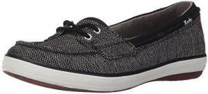 كيدز حذاء سهلة الارتداء اللون اسود -نساء