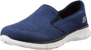 سكيتشرز حذاء سهلة الارتداء كحلي -للنساء