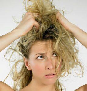 أسباب تقصف الشعر