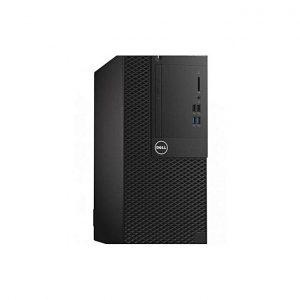 Dell Optiplex 3050 C - مُعالج i3 -7100 من الجيل السابع - 3.9 جيجا هرتز-3 ميجا بايت، 4 جيجا بايت رام - هارد HDD 1 تيرا بايت - أسود