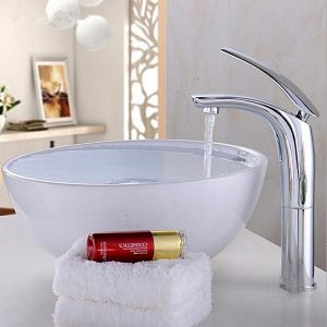 Universal New Brass Basin Sink Bathroom Cold & Hot Mixer Tap Single Level Kitchen Faucet