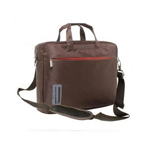 "Dana Trade LB001B - Nylon Messenger Bag for 14.5"" Laptops - Brown"