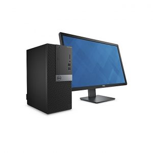 Dell Optiplex 5040 Ci5 -6500, 3.2Ghz-6MB, 4GB, 500GB HDD, Intel HD Graphics, DVDRW, GBLan, KB + Mouse, 1xPCIex16 + Dell 18.5""
