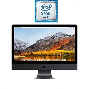 Apple iMac Pro 27-inch with Retina 5K Display (Late 2017) - Intel Xeon W - 32GB RAM - 1TB SSD - 8GB GPU - macOS - Space Gray