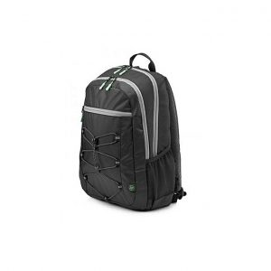 "HP Active Backpack - 15.6"" - Black /Mint Green 1LU22AA"