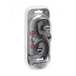 Pioneer SE-E22-J1 Sweatproof Earclip Sports Headphones - Black