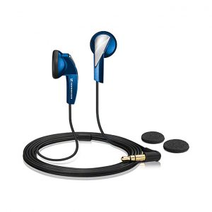 Sennheiser MX 365 - Stereo Earphones With Superior Bass - Blue
