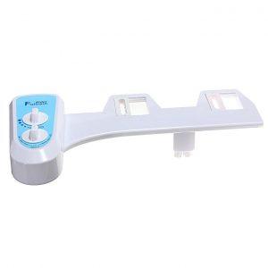 Universal T8120 Nozzle Hot Cold Water Sprayer Non-Electric Bathroom Bidet Toilet Seat Attachment White