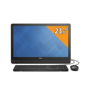 "Dell 24-3464 لاب تب متحول - انتل كور i5 - 8جيجا بايت رام - 1تيرا بايت هارد ديسك HDD - 23.8"" FHD Touch - انتل معالج رسومات - Windows 10 - أسود"