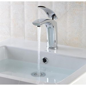 Universal Luxury Brass Basin Sink Bathroom Faucet Single Level Kitchen Cold Hot Mixer Tap
