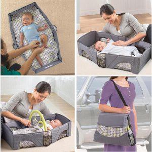 حقيبة سرير الطفل