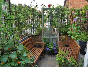 خطوات إنشاء حديقة منزلية