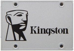 قرص الحالة الصلبة من كينجستون 120 جيجابايت UV400 ساتا III 2.5 بوصة - SUV400S37/120G