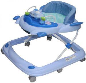 مشاية اطفال دوار مع ملاهي من بيست توي ، ازرق ، -27-01BW
