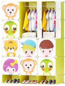 خزانة ملابس و اكسسوارات للاطفال من فوج