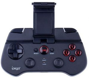 ذراع تحكم ومنصة لعب للألعاب اي بيغا 9027 بتقنية البلوتوث والوايرليس لاجهزة ايفون