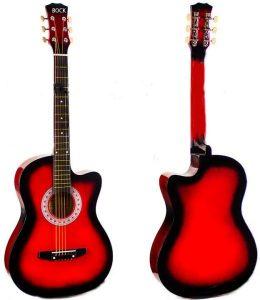 جيتار اكوستيك احمر من بوك