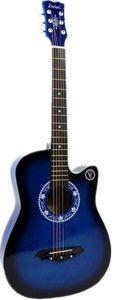 جيتار اكوستيك كلاسيكي (ازرق فاتح) بطراز كت اواي