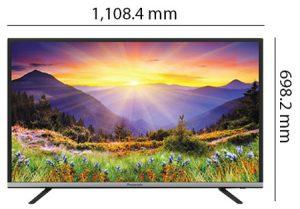 تلفزيون باناسونيك بحجم 49 بوصة بتقنية فل اتش دي وتقنية ليد