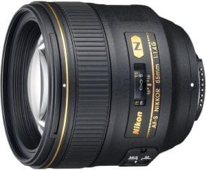 اسعار و ميزات عدسة Nikon AF-S 85 في السعودية