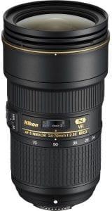 اسعار ومميزات وتفاصيل عدسة نيكون Nikon 24-70