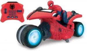 لعبة دراجة اسبايدر مان بالريموت للاطفال