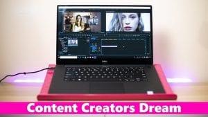 Dell XPS 15 (9570 أفضل لابتوب لمنشئي المحتوى