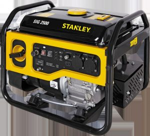 ستانلي انواع المولدات الكهربائية